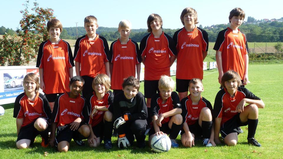 Das D1-Team Saison 2011/2012